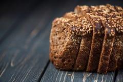 黑麦面包用芝麻 库存照片