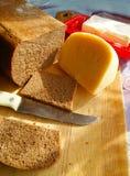 黑麦面包 免版税图库摄影
