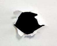 黑洞 免版税库存照片