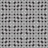 黑n白色几何花纹花样背景 向量例证