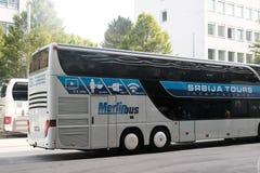 默林公共汽车 免版税库存图片