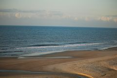 默特尔海滩看法早晨 库存照片