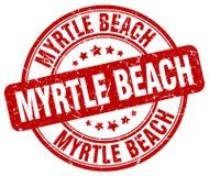 默特尔海滩邮票 免版税库存照片