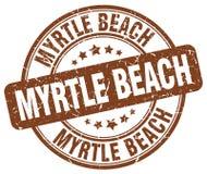 默特尔海滩邮票 向量例证