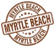 默特尔海滩邮票 库存例证