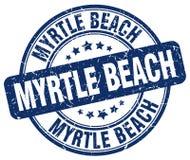 默特尔海滩邮票 免版税库存图片