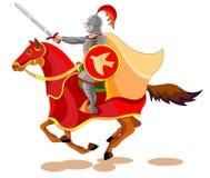 默示录的骑马者,战争 免版税库存图片