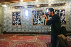 默罕默德阿里宫殿的人 免版税库存图片