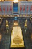 默罕默德v皇家陵墓和清真寺在拉巴特,摩洛哥,非洲 免版税库存图片