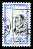 默罕默德V, serie国王,大约1956年 图库摄影