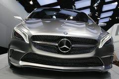 默西迪丝概念汽车2012年 免版税库存照片