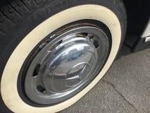 默西迪丝190 SL车胎和轮子 图库摄影