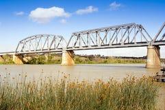 默里桥梁 免版税库存图片
