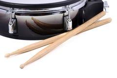 鼓和棍子 图库摄影