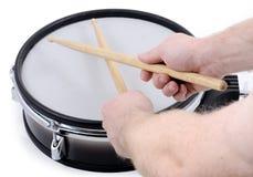 鼓和棍子 免版税图库摄影