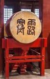 鼓特写镜头在鼓塔,北京中国的 免版税图库摄影