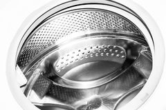 鼓洗衣机 库存图片