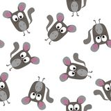 黄鼠无缝的样式 免版税图库摄影