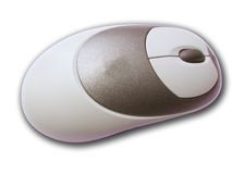 鼠标个人计算机无线 图库摄影