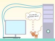 鼠标设备 免版税库存图片