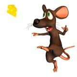 鼠标足球 向量例证