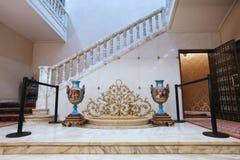 齐奥塞斯库家庭家的PRIMAVERII故宫博物院 免版税图库摄影