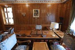 齐奥塞斯库家庭家的PRIMAVERII故宫博物院 免版税库存图片