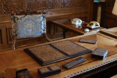 齐奥塞斯库家庭家的PRIMAVERII故宫博物院 图库摄影