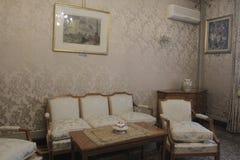 齐奥塞斯库的家庭住所开放为公众 免版税库存照片