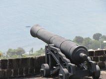 齐射并且打雷的大炮 免版税图库摄影