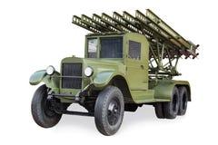 齐射火喷气机系统在第二次世界大战期间的 图库摄影