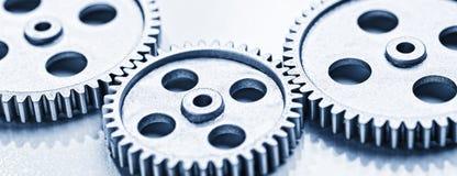 齿轮三轮子 图库摄影
