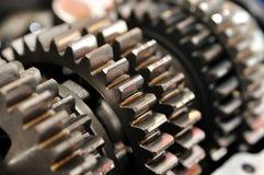 齿轮传动箱 免版税库存图片