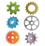 齿轮制造 向量例证