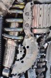 齿轮和嵌齿轮 免版税库存图片