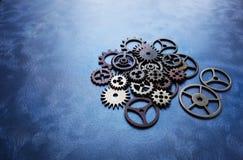齿轮和轮子 免版税库存图片