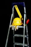 齿轮工具箱安全性 免版税库存照片