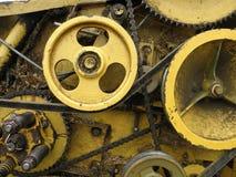 齿轮机构 库存图片