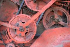 齿轮机械 库存照片