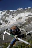 齿轮登山家 免版税图库摄影