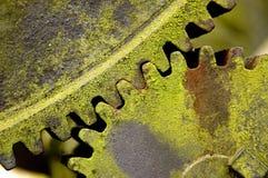 齿轮老泵 免版税库存照片