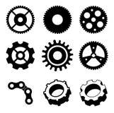 齿轮设计 库存照片