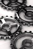齿轮金属 免版税库存图片