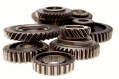 齿轮金属 免版税库存照片