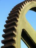 齿轮钢轮子 免版税库存照片