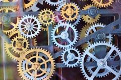 齿轮集 免版税库存图片