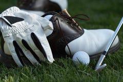 齿轮高尔夫球 库存照片