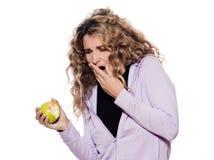 齿龈炎纵向妇女 免版税库存图片