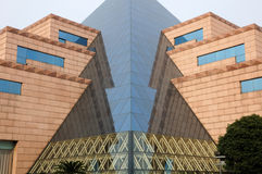 龙华迫害博物馆大厦 免版税库存照片