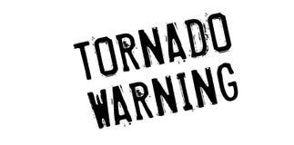 龙卷风警告的不加考虑表赞同的人 免版税图库摄影